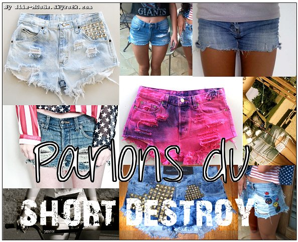 Le Short destroy !