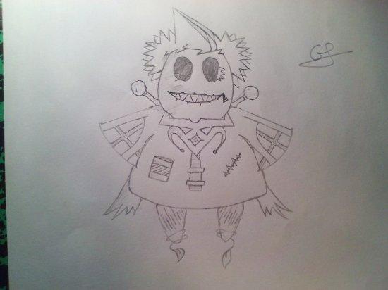 Un de mes premiers dessins!