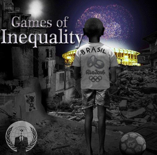 Rio 2016 : Un jeu inégal