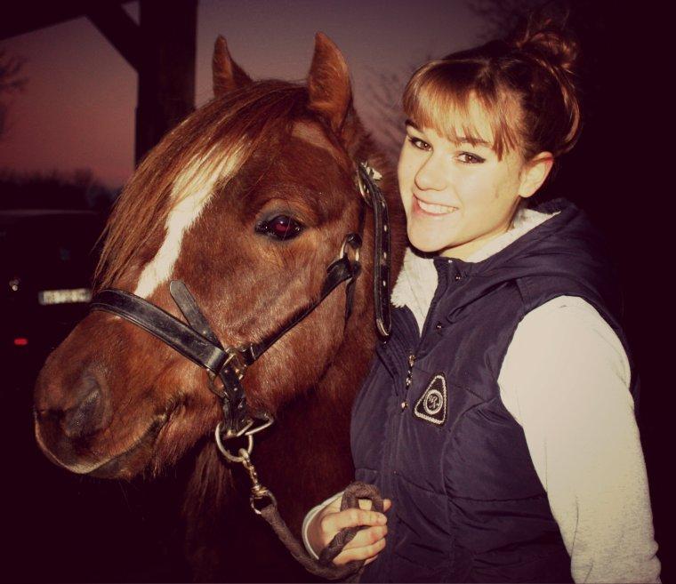 N'oublie jamais que un cheval sans son cavalier reste un cheval, mais qu'un cavalier sans son cheval n'est plus qu'un homme.