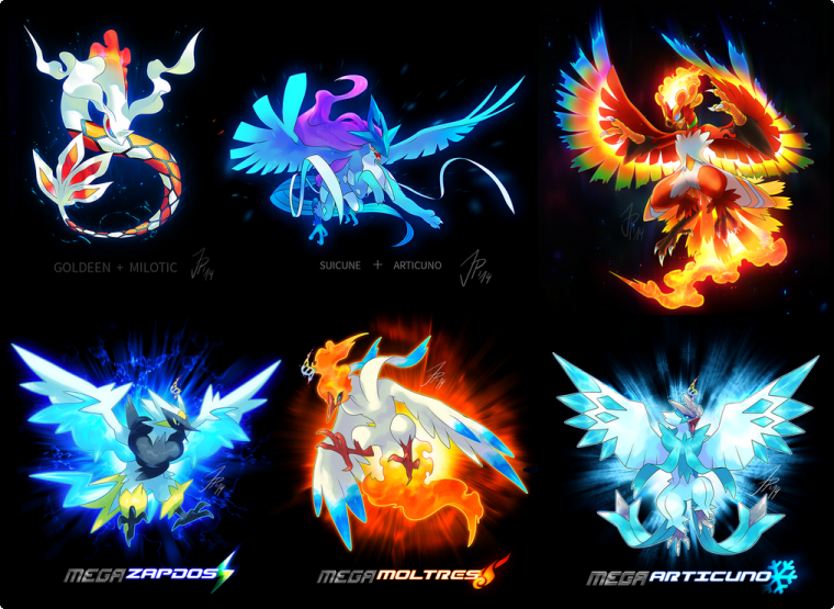 Pokemon : Fusions & Méga Evolutions