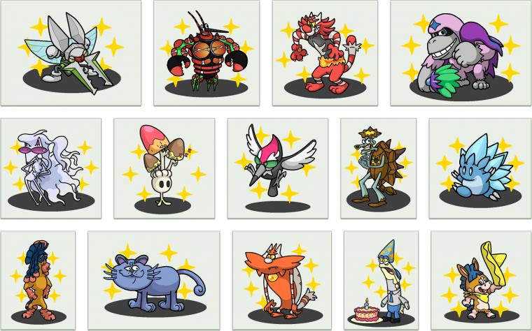 Réinterprétation de Pokemon en Personnages d'autres Médias
