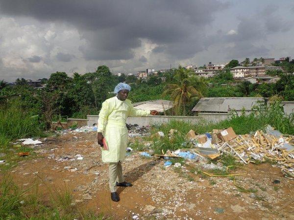 Elessa Belle Gilbert : déchets des formations hospitalières, encore un problème