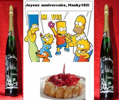 Joyeux anniversaire hanky18 les simpson le blog - Simpson anniversaire ...