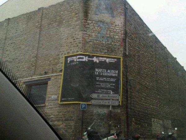 Présent même sur le mur de Fresnes 9.4 !!!