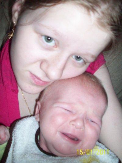 mon bebe prresque a 2mois