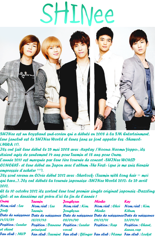 SHINee !!! Kawaii ~
