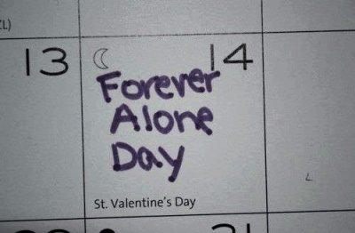 Je déteste la Saint Valentin
