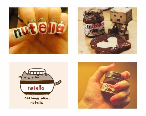 J'ai une dépendance ... pour le Nutella *-* ♥