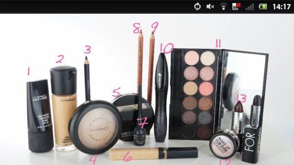 Les basiques maquillage