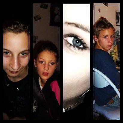 メ Benjamin, Lucie, Elodie, Valentin メ