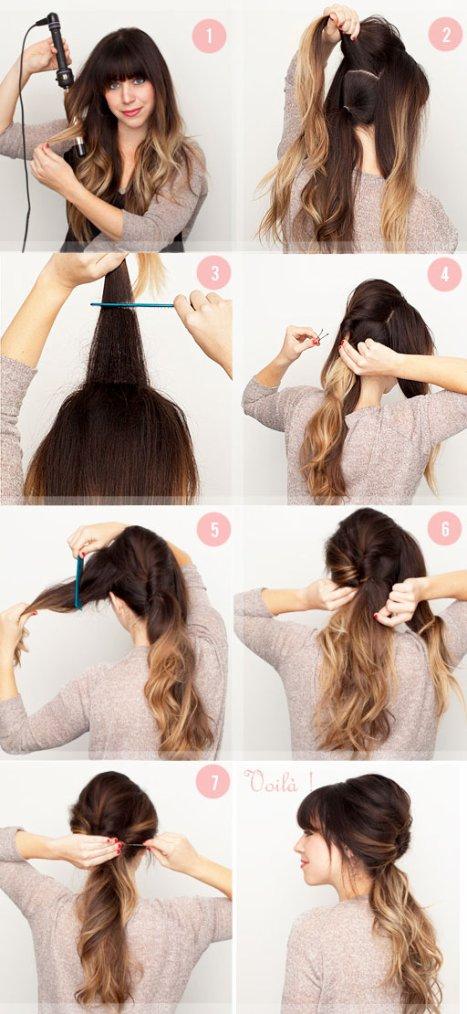 Super Tuto coiffure de soiree cheveux long – Votre nouveau blog élégant  XG84