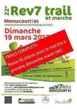 TRAIL DE MENUCOURT