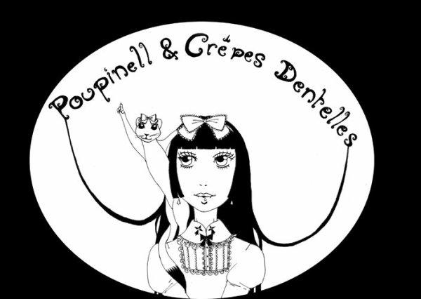 Poupinell & crêpes dentelles