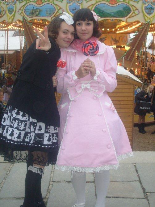 Mes amies Lolitas.