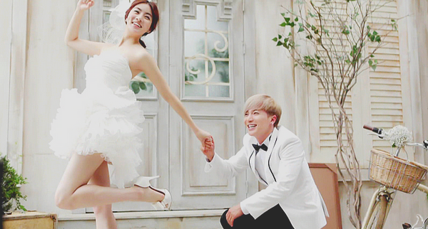 Leeteuk & Sora - We Got Married