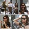 21 Mai 2011 ◇ Ashley, sa mère et des amis étaient dans un restaurant de Madrid.