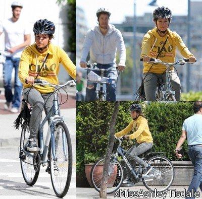 29 août : Ashley et Scott à bicyclette
