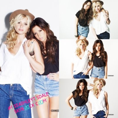 Marvin Scott Jarrett Photoshoot #2  for Nylon Magazine  Ashley Tisdale & Alyson Michalka
