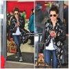 26 février 2011 ◇ Ashley a été vu à l'aéroport de LAX attendant sa limousine. Elle est de retour à Los Angeles puisqu'elle a encore une pause dans le tournage de Hellcats.
