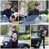 23 Avril 2011 ◇Ashley et son adorable petite chienne Maui,étaient de sortit dans Studio Citya Los Angeles.