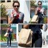 6 Mai 2011  ◇ Ashley est allée s'acheter à manger au restaurant Chipotle Mexican Grill, après sa gym.