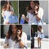 10 Mai 2011  ◇ Ashley s'est rendue à un rendez-vous professionnel à Studio City dans Los Angeles, tout en téléphonant.