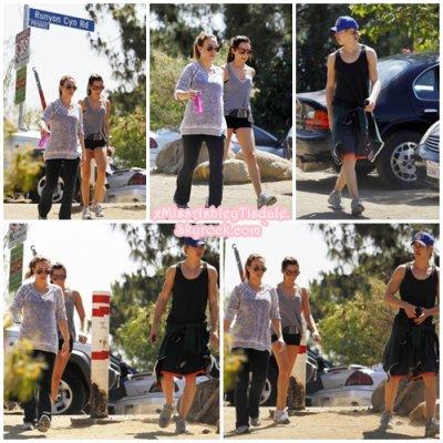 7 Juin 2011 ◇ Ashley faisaient une randonnée avec Haylie Duff et Austin Butler dans le Runyon Canyon de Los Angeles.