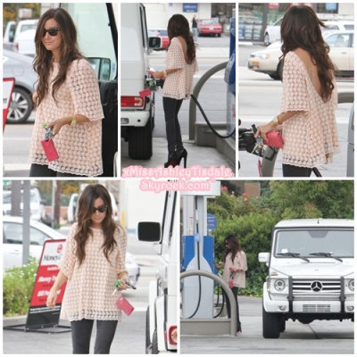8 Juin 2011 ◇ Ashley était à une station d'essence dans Studio City à Los Angeles.