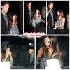 23 Juin 2011 ◇ Ashley, Scott et sa soeur Julie sortaient du restaurant Katsuya à Hollywood.