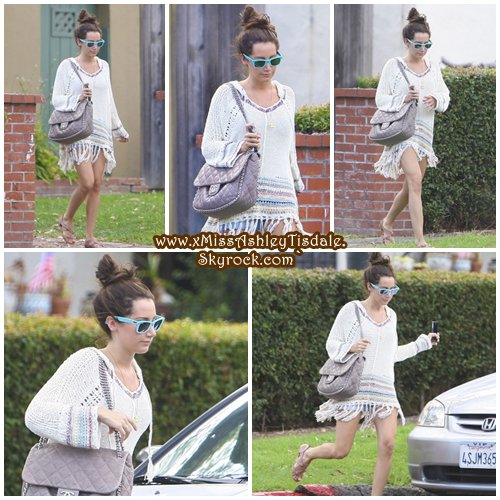 07 Juillet 2011 ◇ Ashley quittait la maison d'un ami à West Hollywood