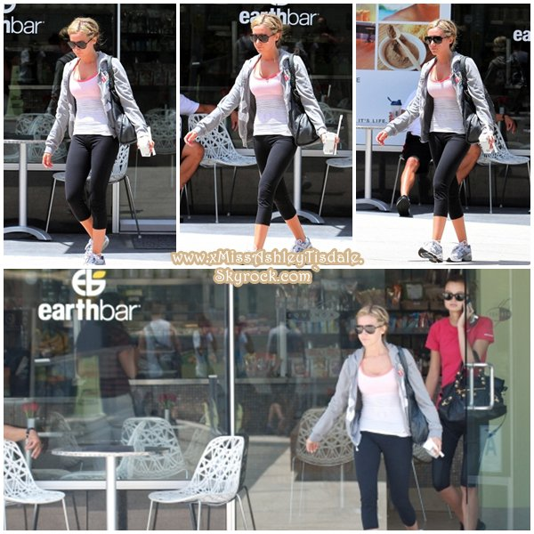 11 Juillet 2011 ◇ Ashley allait à la salle de gym Equinox à West Hollywood.