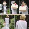 14 Juillet 2011 ◇ Ashley arrivait au salon Andy Lecompte dans le West Hollywood.
