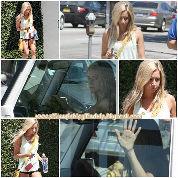 19 Juillet 2011 ◇ Ashley quittait un rendez-vous d'affaire dans un studio de Los Angeles.