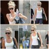 25 Juillet 2011 ◇ Comme à son habitude, Ashley s'est rendue à la salle de sport « Equinox » dans West Hollywood.