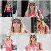 27 Juillet 2011 ◇ Ne changeons pas les habitudes, Ashley s'est rendue à la salle de sport « Equinox » dans West Hollywood.
