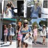 6 Août 2011 ◇ Ashley et Samantha Droke faisaient du shopping à Planet Blue dans Malibu.