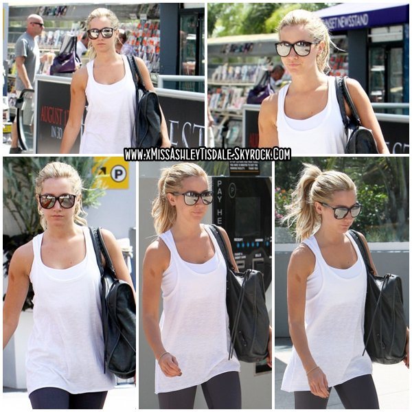 18 Août 2011 ◇ Ashley s'est rendue à la salle de sport Equinox dans West Hollywood.