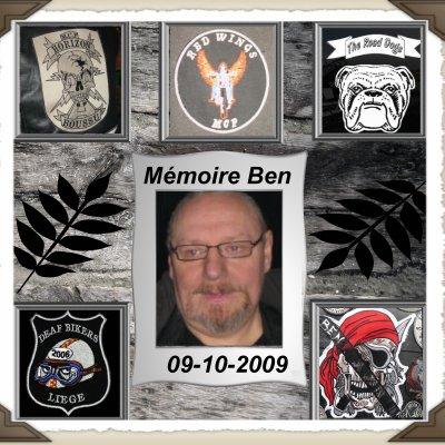 Mémoire Ben un an déjà 09-10-2009