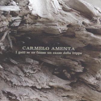 """Esce il nuovo album di Carmelo Amenta """" I gatti se ne fanno un cazzo della trippa"""""""
