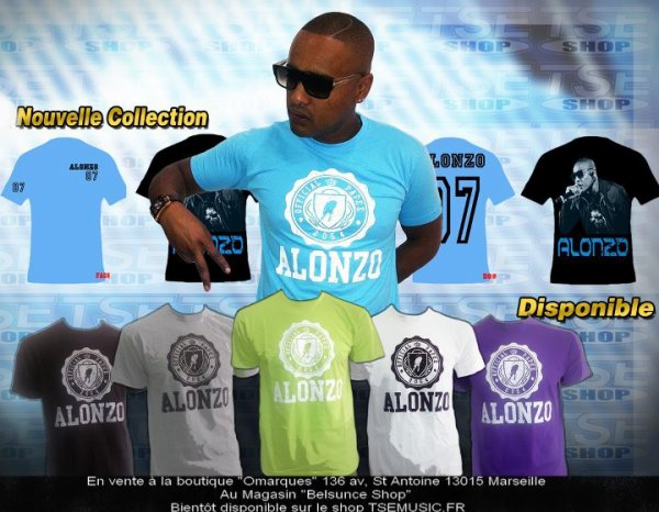 LA NOUVELLE COLLECTION de tee shirts ALONZO.