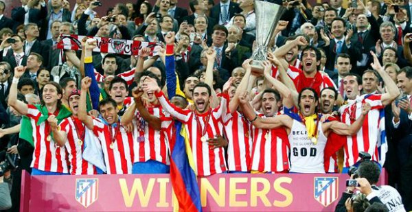 2012 : l'Atletico Madrid remporte sa 2eme Europa League !