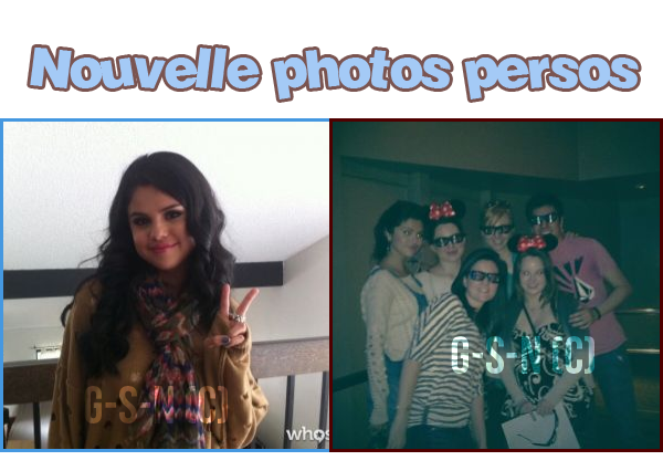 #Post 58 // appararition,photo persos ♥