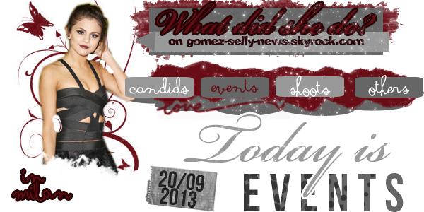 #Post 105 // Events, candids, news, divers ♥