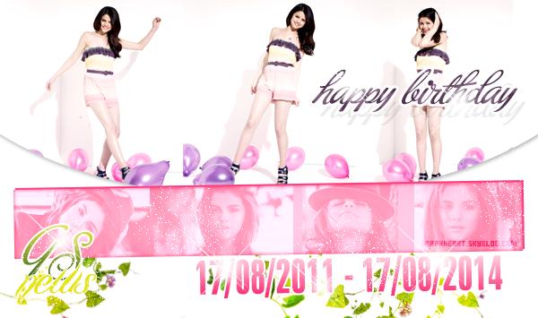 Happy Birthday GSN ♥
