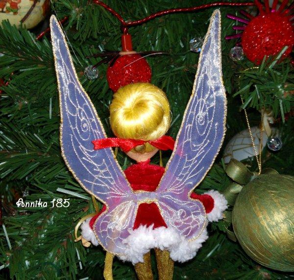 Fée Clochette de Noël