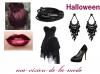 Robe de soirée 19 : Spécial Halloween!