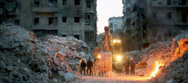«Les Derniers Hommes d'Alep»