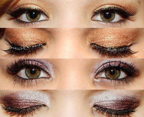 Make up pour les yeux verts bleus marrons le blog d 39 images pour filles - Yeux vert marron ...