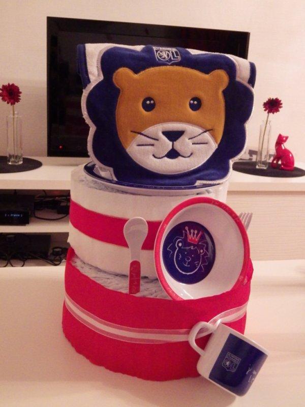 gâteau olympique lyonnais